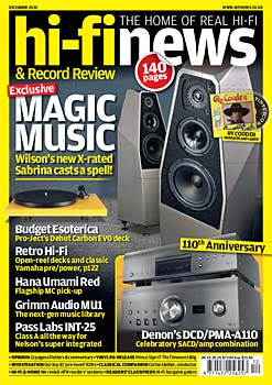 Hi Fi News - Print + Digital